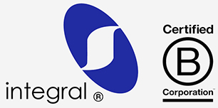 Logo Integral - Certified B Corporation